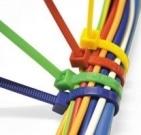 Colliers de serrage nylon pour cablage électrique